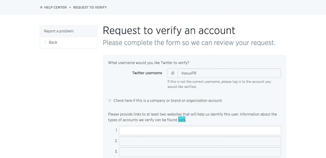 You Can Now Verify Your Twitter Account -