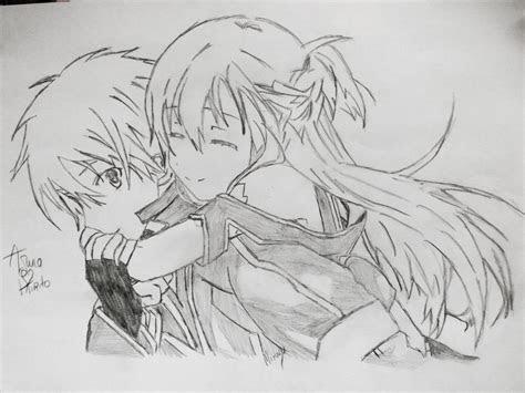 asuna  kirito  sword art  queeky