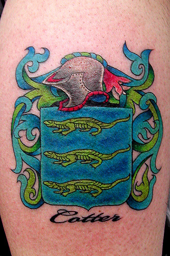 Tattoos · Sean Ohara. Cotter Family Crest