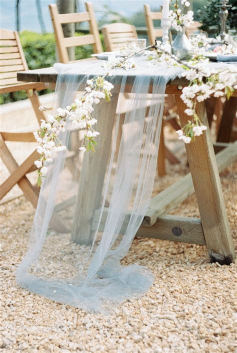 17 Best images about DIY Tulle Wedding Decorations on