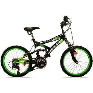 mountainbikes kinder mountainbike 20 zoll climber vollgefedert 18 gang shimano kinderfahrrad. Black Bedroom Furniture Sets. Home Design Ideas