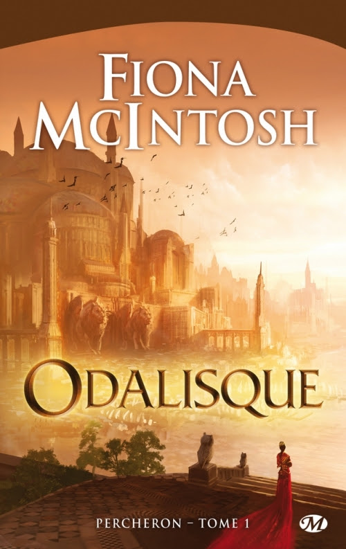 Couverture Percheron, tome 1 : Odalisque