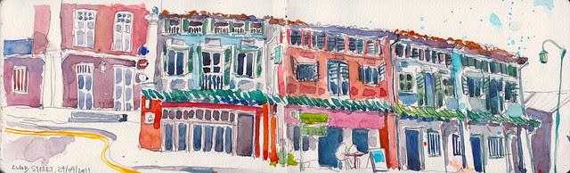 Club Street Sketchwalk