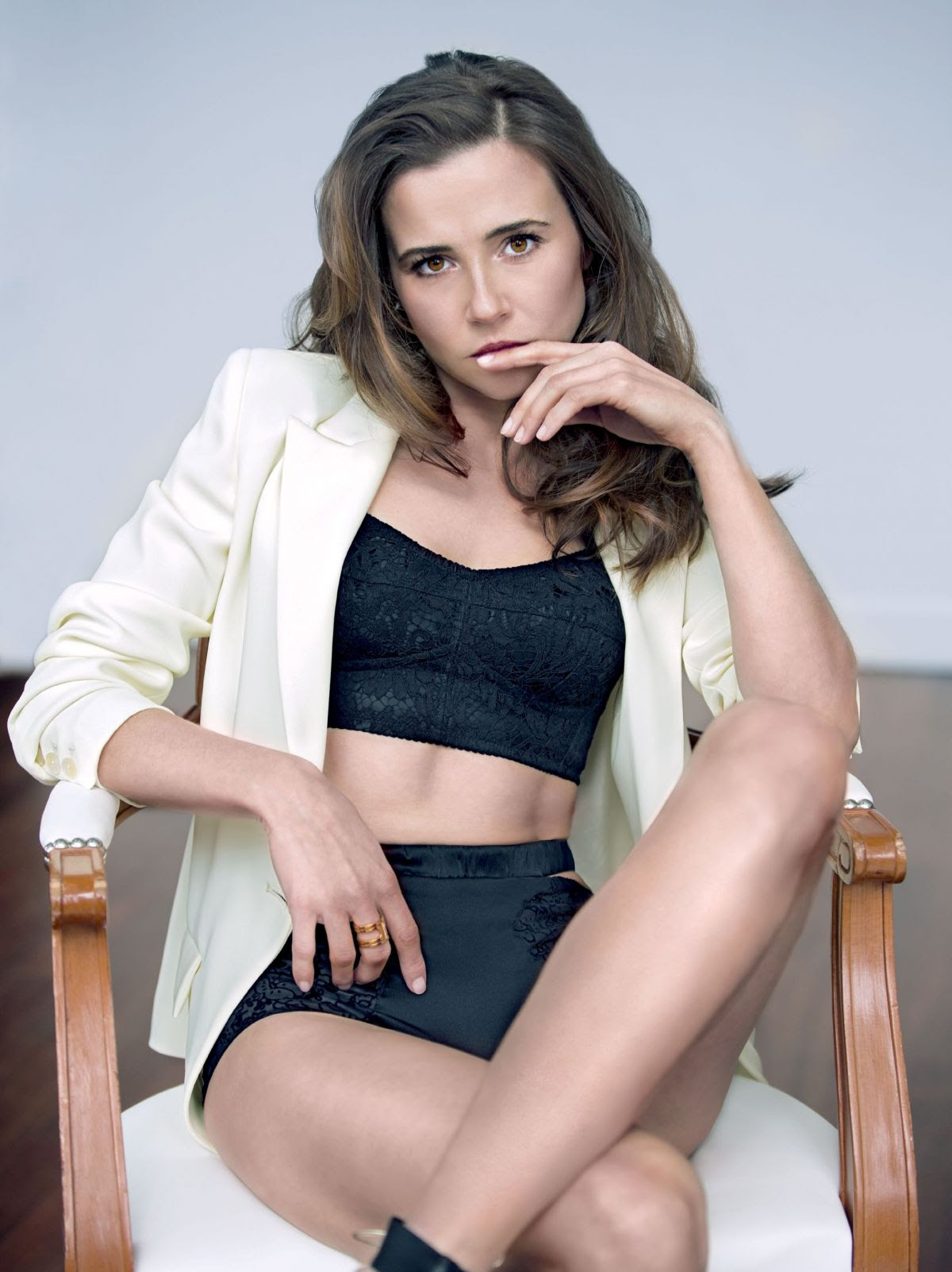 LINDA CARDELLINI in Sharp Magazine, April 2015 Issue