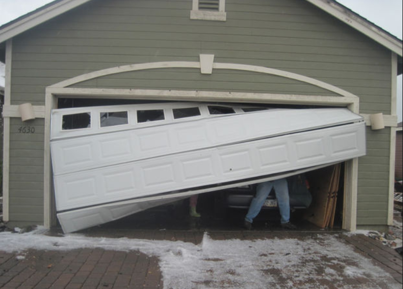 Off Track Garage Door Repair Bakersfield Ca Pro Garage Door Service