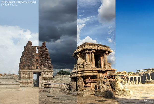 Four Seasons in One Photo in 8 Places Around the World