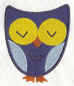 owl applique 2