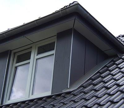 Bekannt Boden ausgleichen mit Schüttung: Dachüberstand mit blech verkleiden QK84