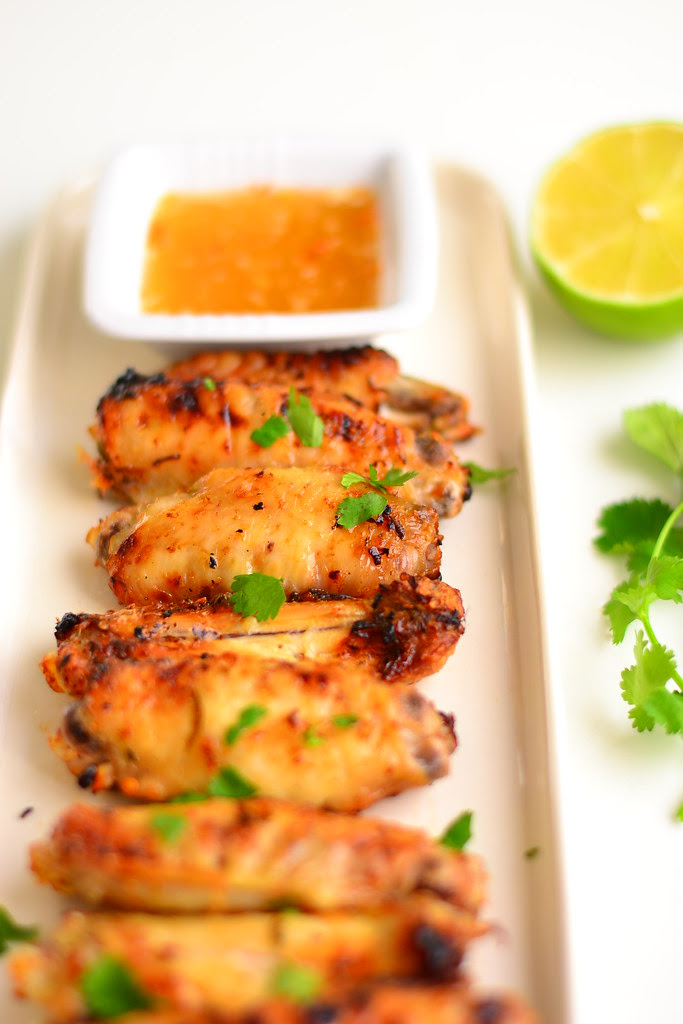 Thai lime and coriander chicken wings 5