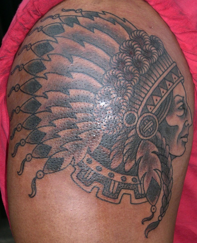 Indian Chief Tattoo Meaning Images For Tatouage
