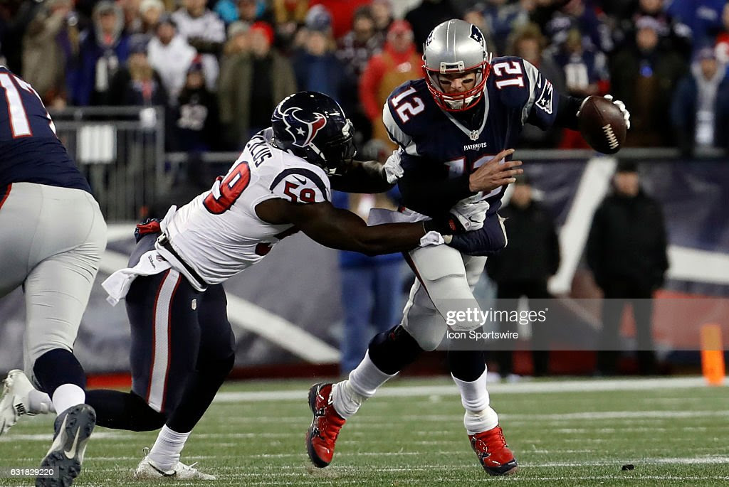 Image result for Tom Brady sacked by Texans