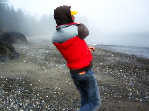 skipping rocks,