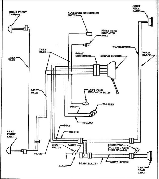 Wiring Diagram For 59 Factory Turn Signals The 1947 Present Chevrolet Gmc Truck Message Board Network