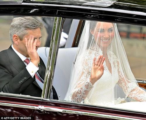 Kate Middleton & Dad