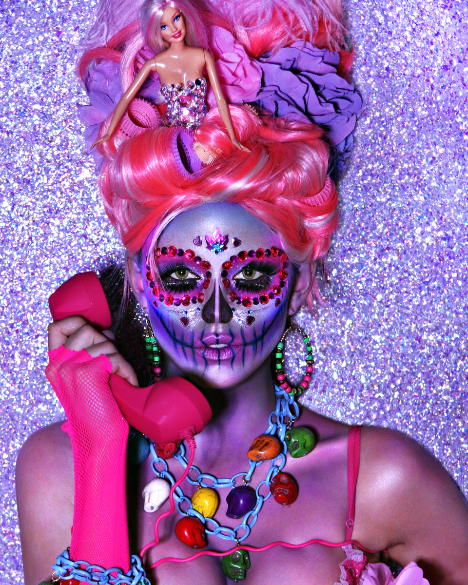 Scariest Halloween Makeup For Day of The Dead - The WoW Style