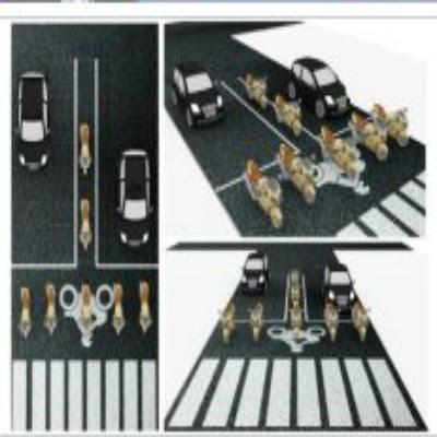 Maré Malta propõe a criação de moto-faixas para o trânsito do Recife