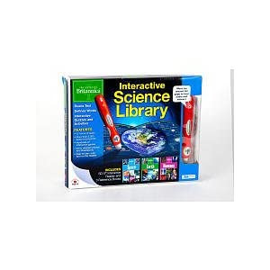 Encyclopaedia Britannica 3-Book Interactive Science Library: Earth, Space, Humans