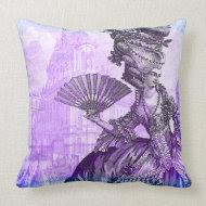 Marie Antoinette Versailles Purple Haze Pillow throwpillow