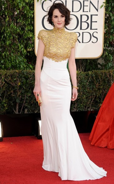 Michelle Dockery - 70th Annual Golden Globe Awards