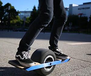 Onewheel  the world\u002639;s first selfbalancing electric skateboard on one wheel