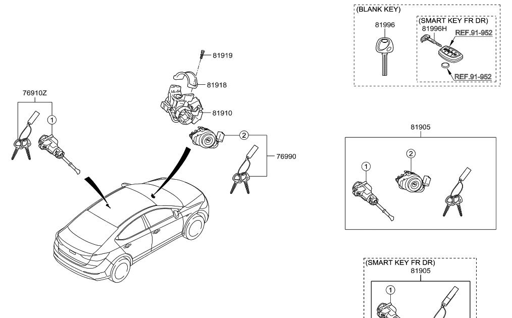 25 Hyundai Elantra Parts Diagram
