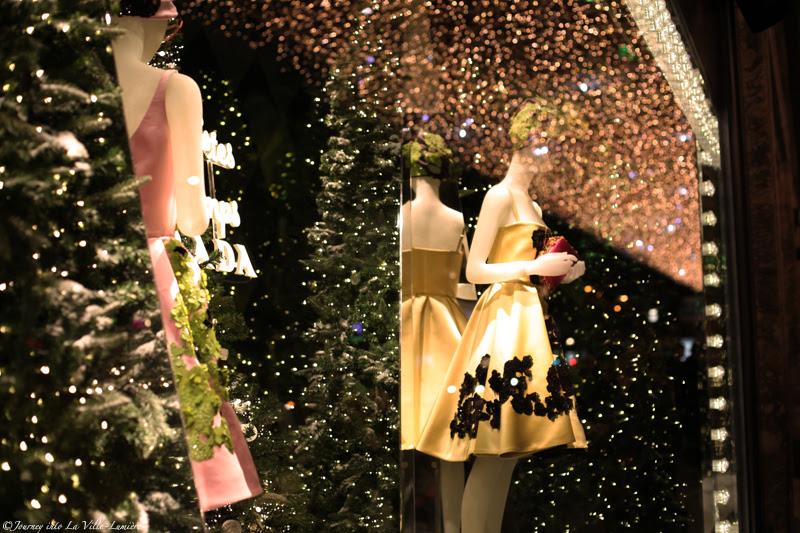 Christmas Windows at Printemps