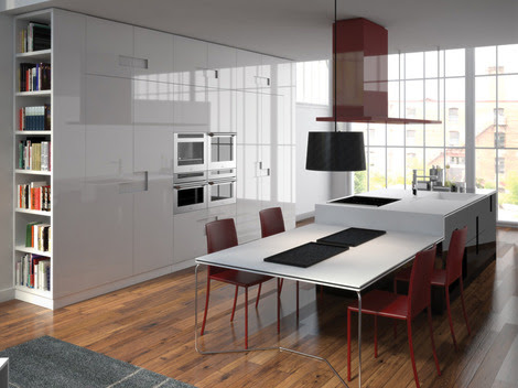 New Kitchen Designs by Ernestomeda - Carre kitchens