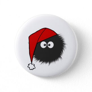Dazzled Bug Christmas Buttons