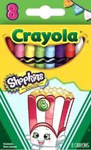 Crayons Multi-Colored Shopkins Crayola