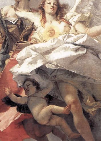 Nobility and Virtue Striking Down Ignorance by Giambattista Tiepolo