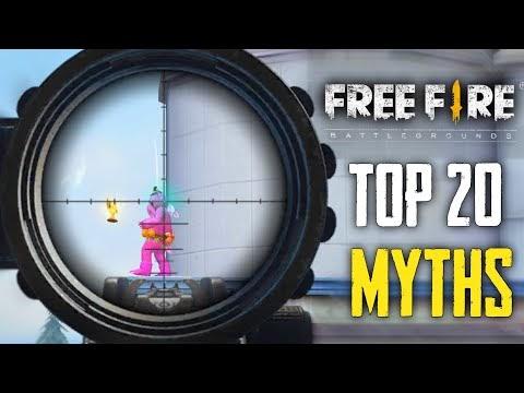 Top 20 Mythbusters in FREEFIRE Battleground | FREEFIRE Myths