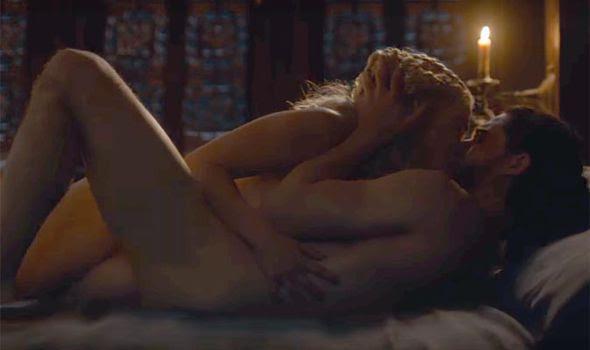 Game of Thrones: Jon Snow and Daenerys
