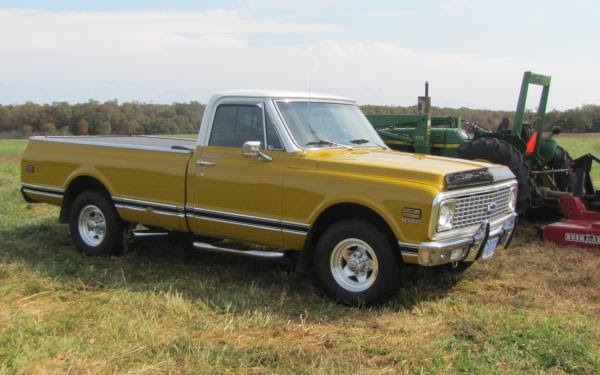 1972 Chevrolet C20 K20 Information And Photos Momentcar