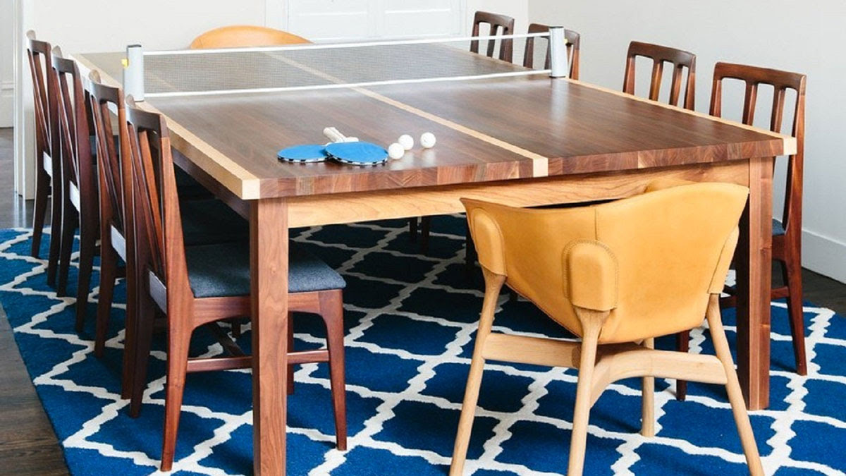 Ping Pong Dining Table Dudeiwantthat Com