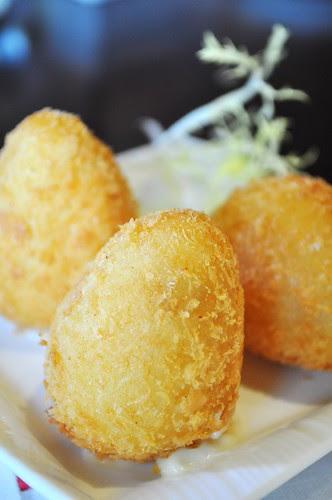 cheese dumpling