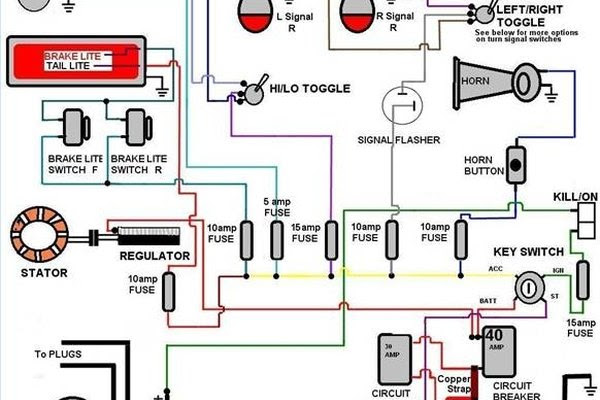 basic auto electrical wiring diagram image 4