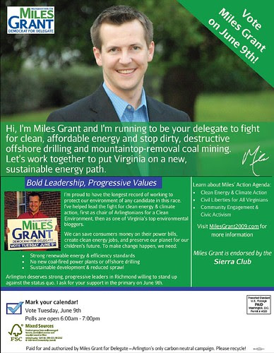 Miles on Green issues