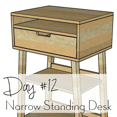 http://www.morelikehome.net/2017/10/diy-desk-series-12-narrow-standing-desk.html