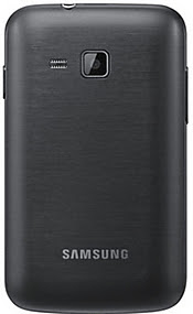 iQJpz Samsung Galaxy Y Pro Duos B5512 – Metallic Black at 7621
