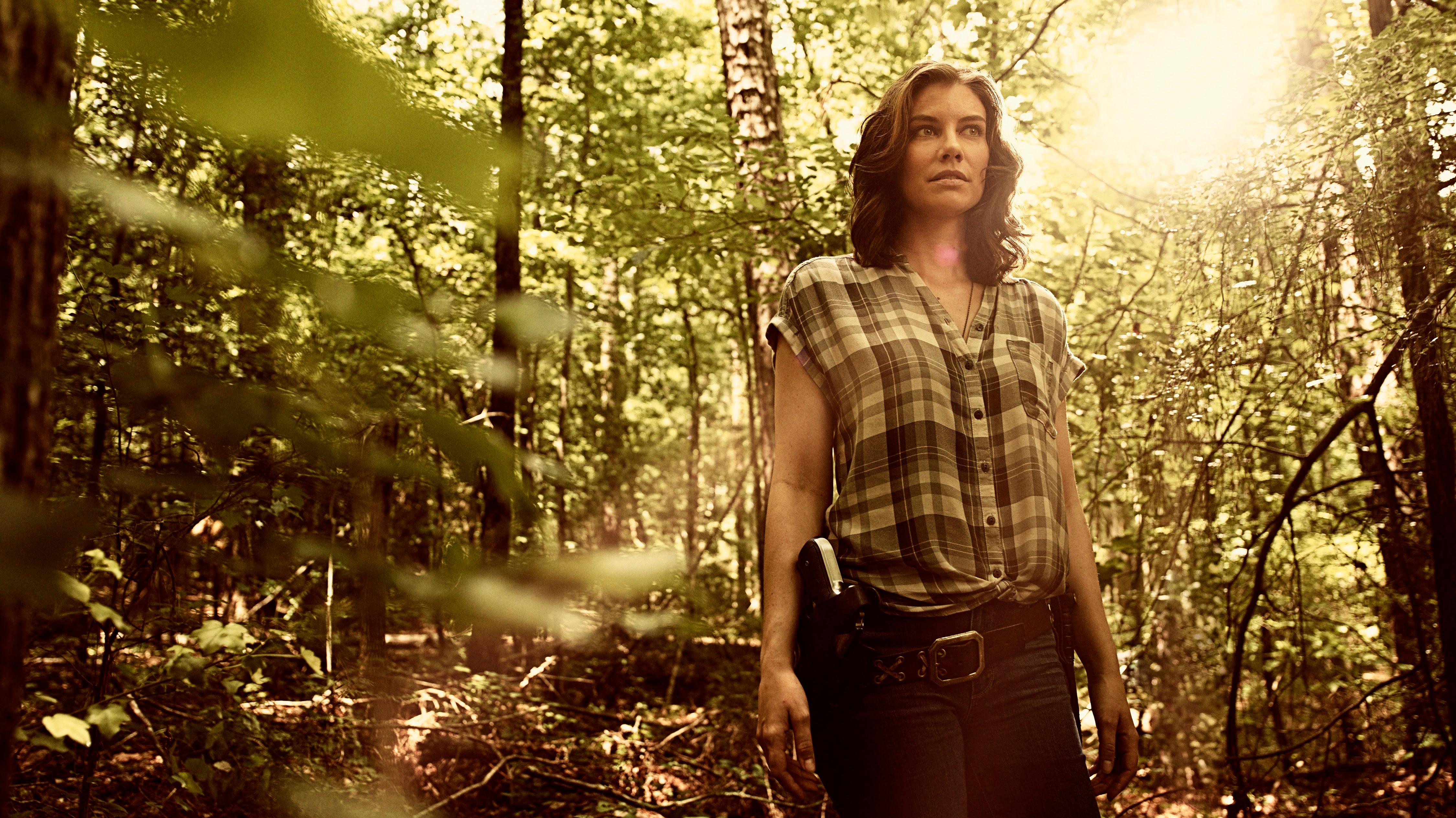 Lauren Cohan In In The Walking Dead Season 9 4k Wallpaper Hd