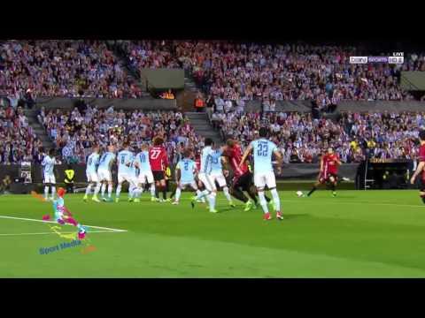 منشستر يونايتد يفوز على مضيفه سيلتا فيغو الإسباني