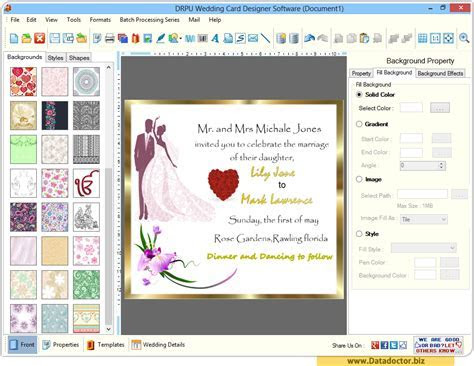 Wedding Card Designing Software   design beautiful