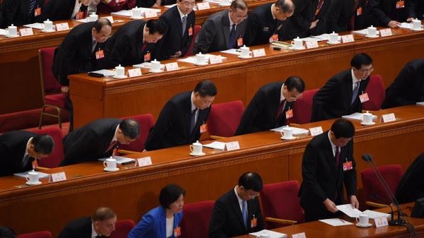 图为2019年中国两会