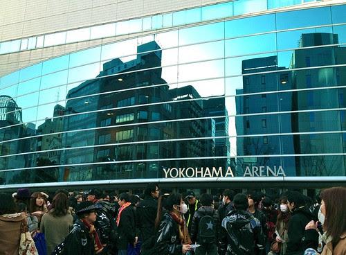 YOKOHAMA ARENA by cinz