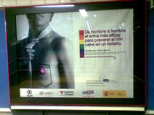Campagna per la prevenzione dell'AIDS in Spagna