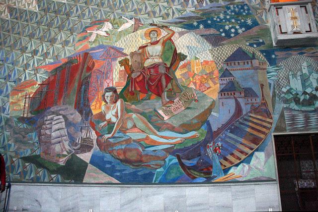 IMG_2989 Oslo City Hall mural