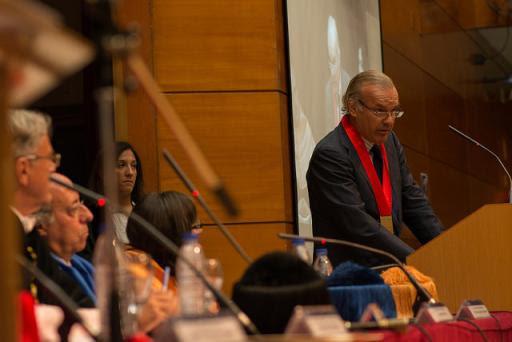 Acto de Apertura del Curso académico en la Universidad Carlos III de Madrid. 2014.