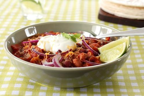 chili sin carne close