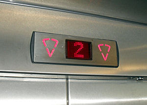 LED elevator floor indicator