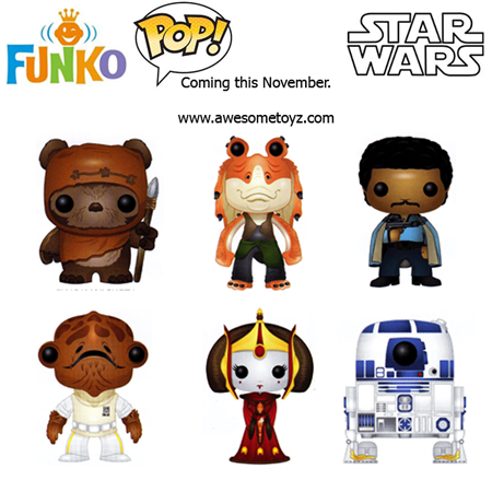 Star Wars Series 4 Funko POP! | Anakin And His Angel
